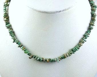 Native American Navajo handmade genuine Turquoise necklace