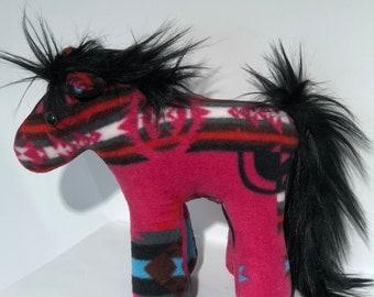 Native American Navajo handmade Penelton style horses by Artist Audris Joe