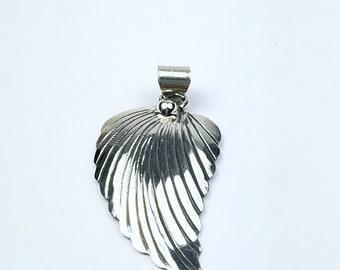 Native American Navajo handmade Sterling Silver pendant
