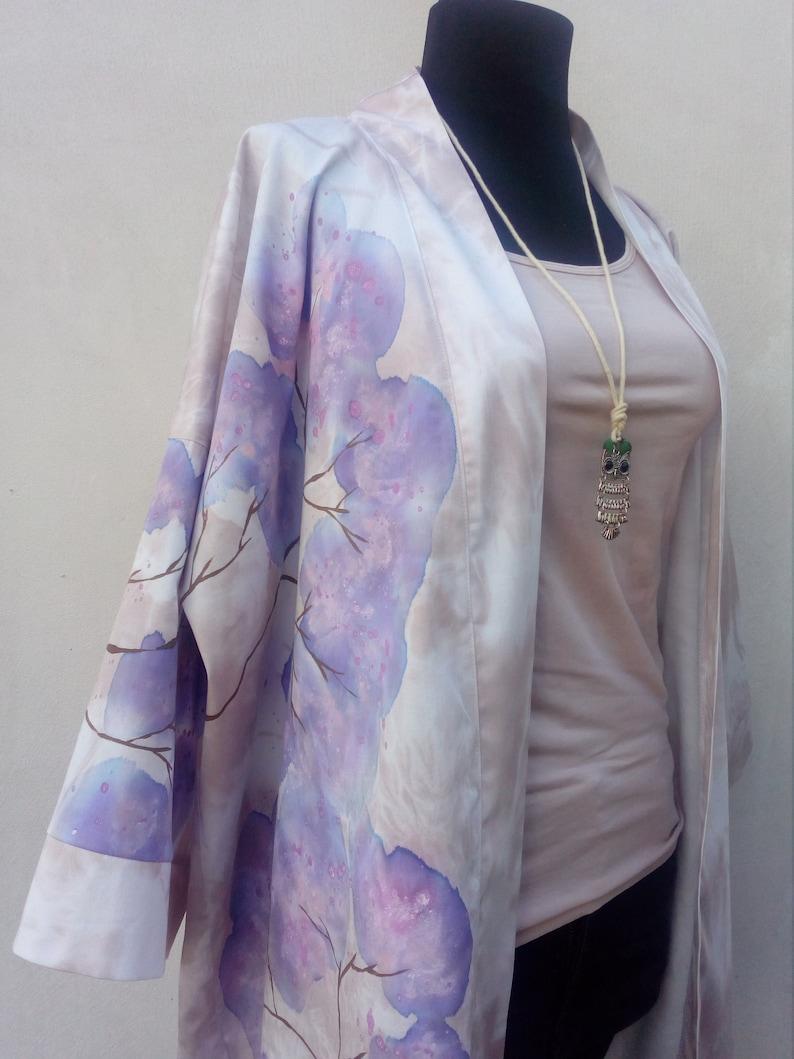 Luxury Kaftan Beach Wear Oversized Kimono Kimono Jacket Plus Size Beach Kimono Cardigan Boho Cotton Kimono Robe Beach Cover Up