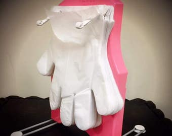 Nursery Style - Pink Disposable Glove Set