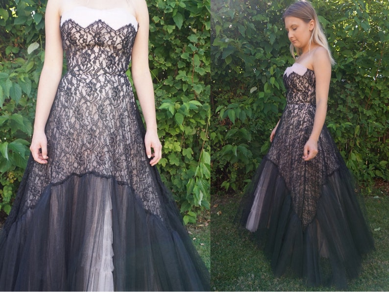 True Vintage 1950s Prom Party Wedding Formal