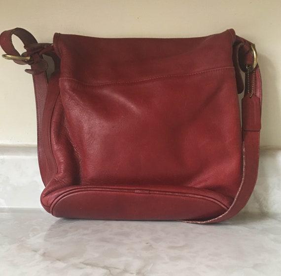 Vintage Coach Shoulder Bag/ Coach Handbag - image 6