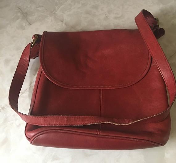 Vintage Coach Shoulder Bag/ Coach Handbag - image 2
