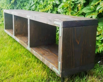 Rustic Tv Stand Etsy