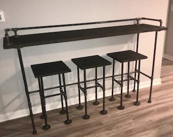 Sofa Bar Table Etsy