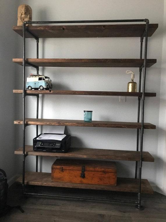 Zero Voc Bookcase Zero Voc Furniture Eco Friendly Bookcase Reclaimed Wood Bookcase Industrial Bookcase Industrial Furniture