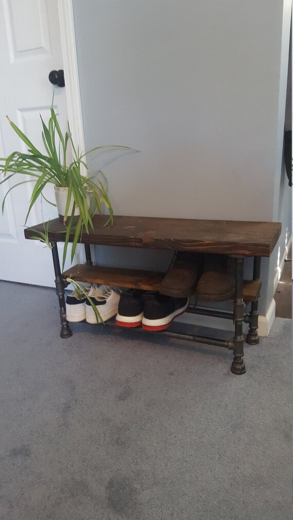 Prime Shoe Storage Bench Industrial Entryway Bench With Shoe Storage Entry Bench With Storage Mudroom Bench Rustic Bench Farmhouse Bench Gmtry Best Dining Table And Chair Ideas Images Gmtryco