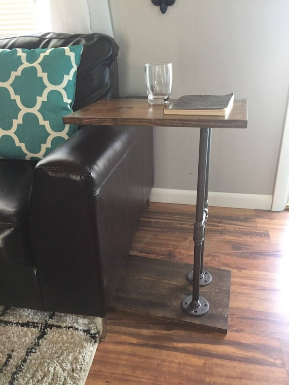 Side Table Industrial C Sofa End Coffee - Industrial Pipe Sofa Table