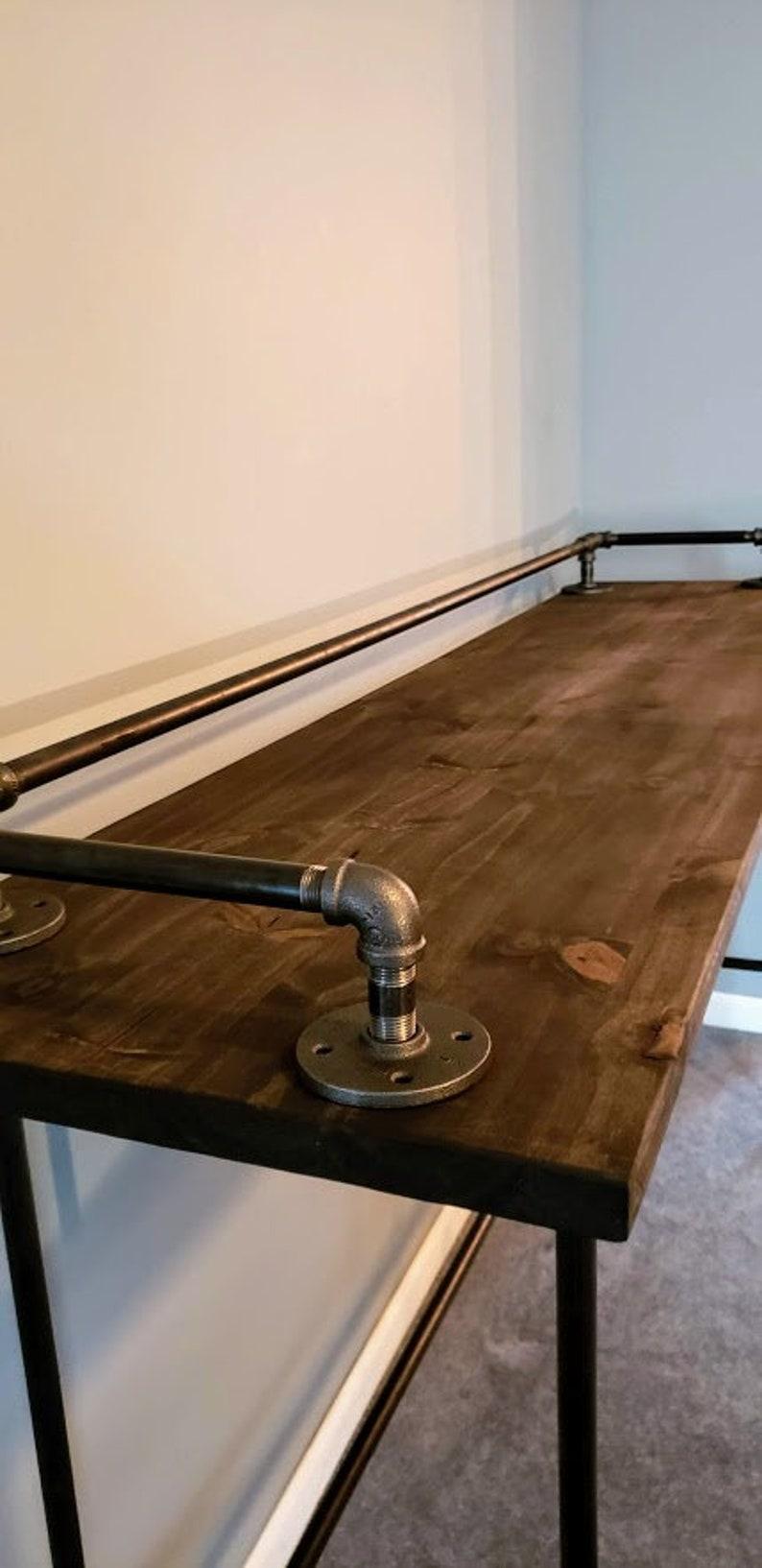 Industrial Sofa Bar Table Caseconrad Com