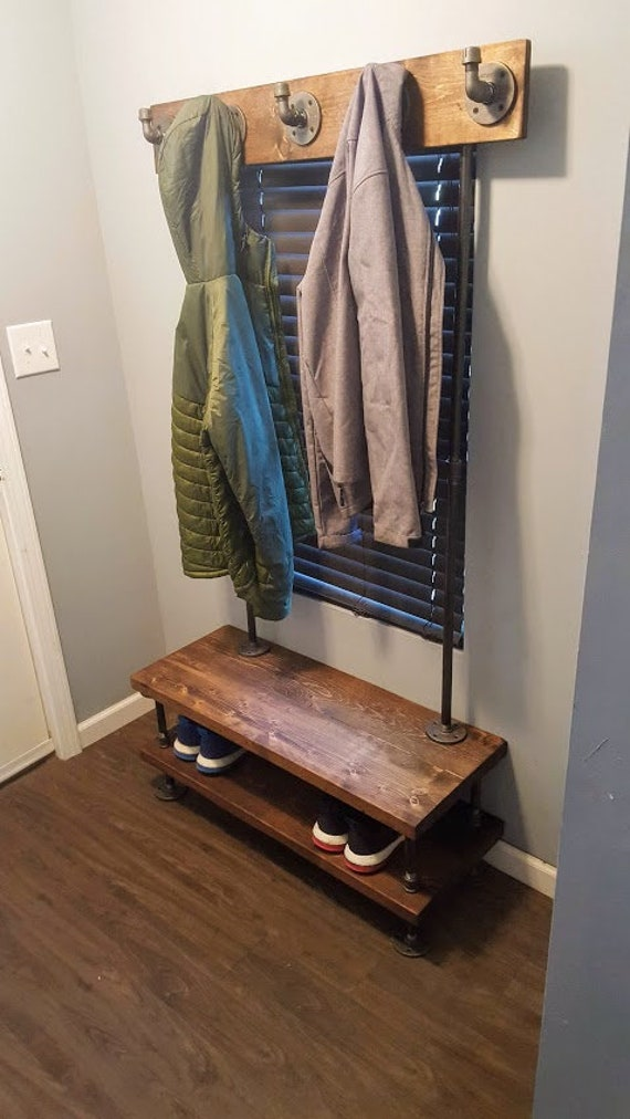 Coat and shoe rack | Etsy