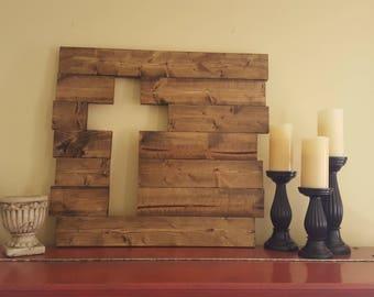 Wooden Cross Cutout Rustic Wood Cross, Rustic Cross, Wood Cross, Wooden Cross,
