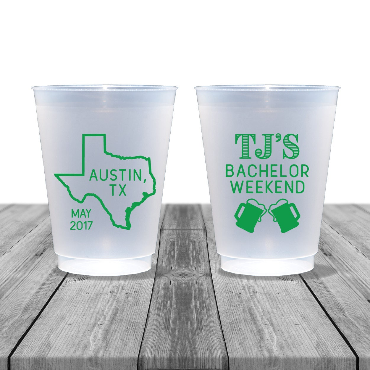 Bachelor Party Cups Birthday Frosted Personalized Etsy Cup Zoom