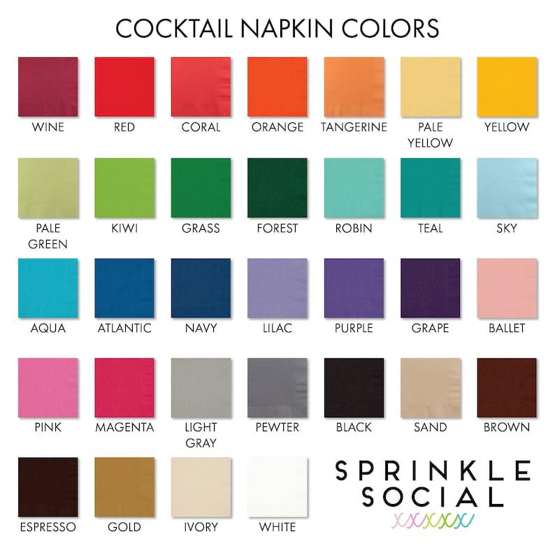 Cocktail Napkins Monogrammed Napkins Personalized Napkins Wedding Napkins Laurel Napkins Wedding Cocktail Napkins Party Napkins