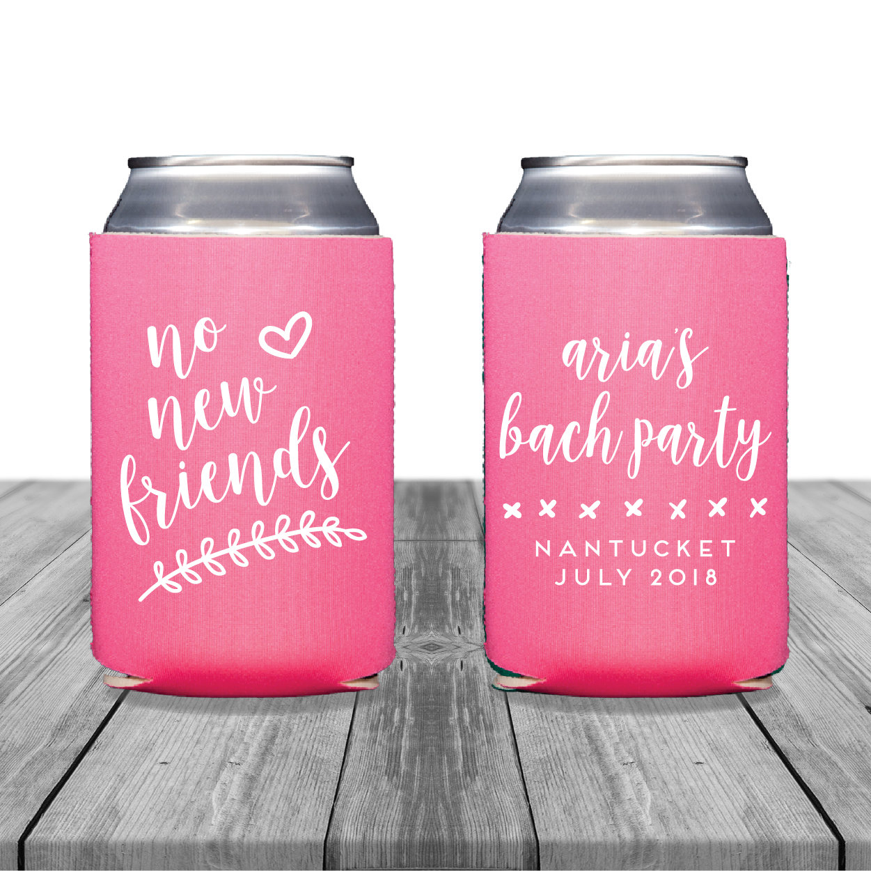 Neoprene Can Coolers Personalized Coolies Wedding Coolies | Etsy
