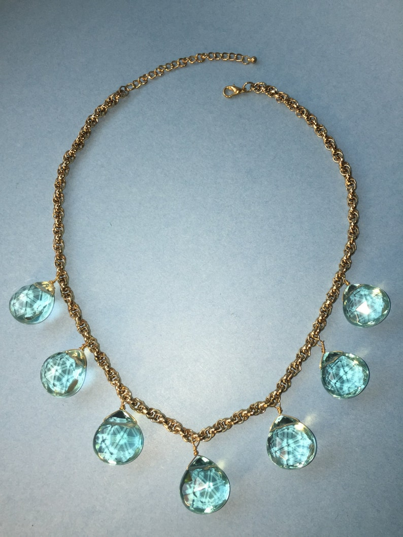 Giant Crystal Statement Necklace