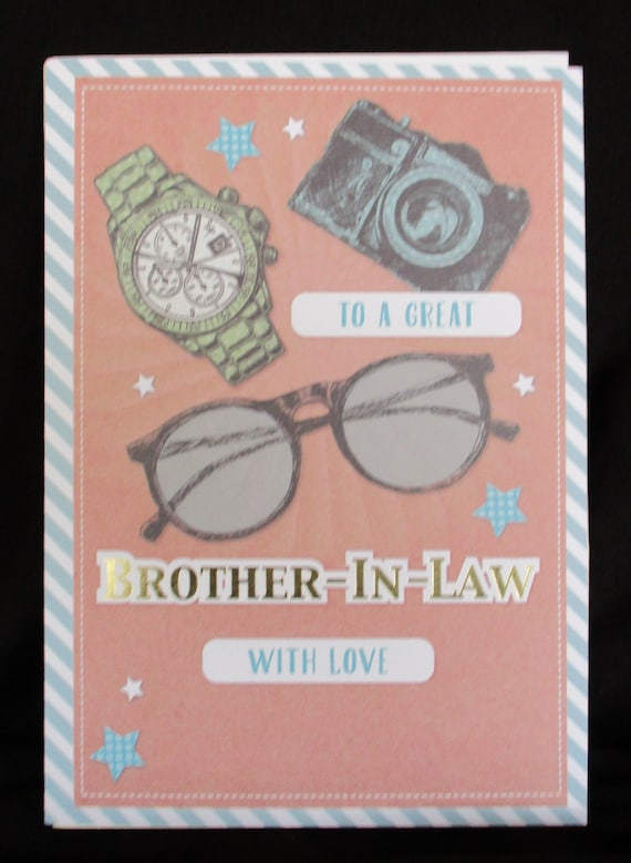 Brother In Law Birthday Card Cards Happy