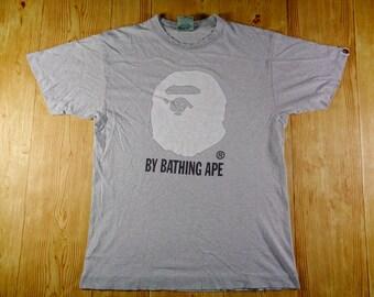 9be29f41d 20% OFF Vintage A Bathing Ape BAPE X Kaws Big Face Full Logo Shirt Original  Japan Medium
