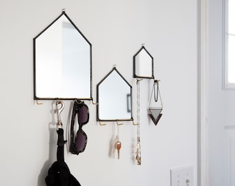 Modern Mirror House Wall Organizer - 3 Sizes