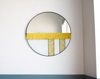 The Mezzo - Large Mirror with Fringe