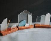 Premium Modern Stained Glass Nativity Set - mid mod