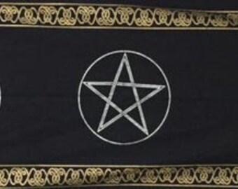 Triple Pentacle Tapestry