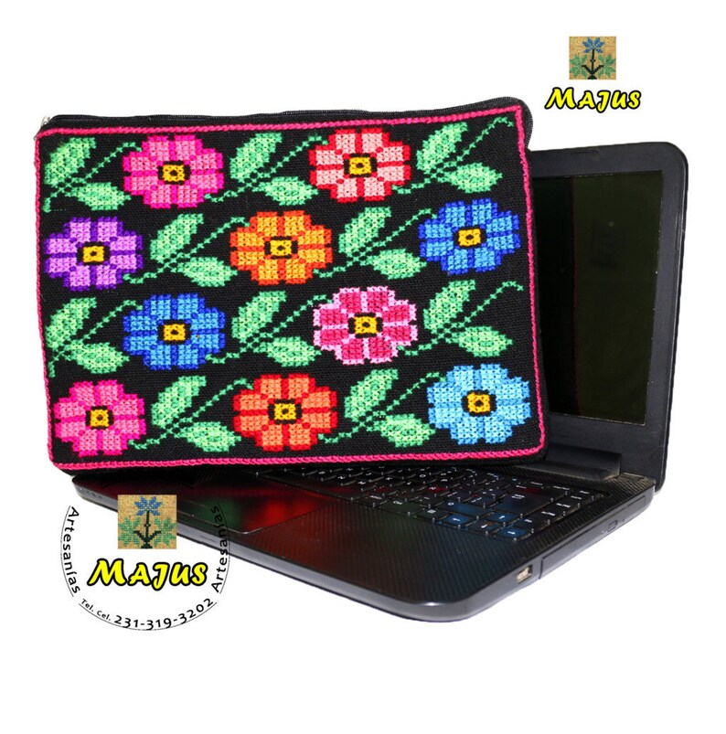 c9cdc319a823a Hand Embroidered Laptop Case-Netbook-computer