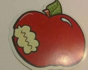 Teachers pet tasty apple sticker