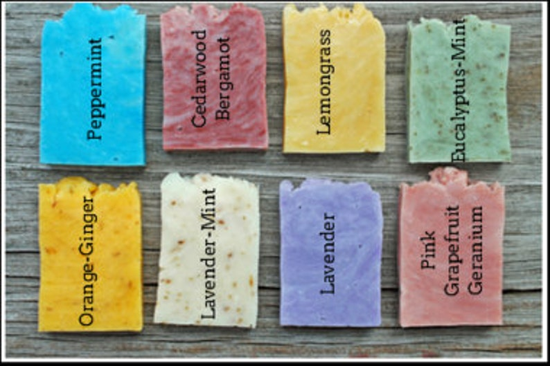 Wedding soap favors Bridal shower favor personalized Natural Rustic soap favors Country wedding Guest soap favors party favor soap mini soap
