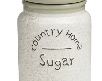 Sugar jar Airtight 10.5 10.5 x 14 cm X Country Home