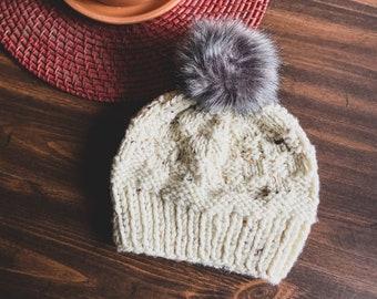 Handmade Basket Weave Knit Toque || 7 Sizes!