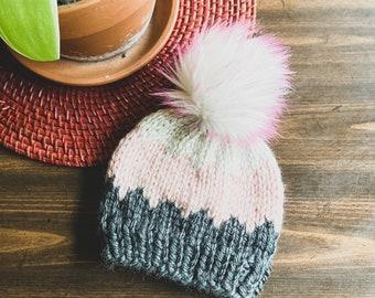 Handmade Pyramid Knit Toque || 7 Sizes!