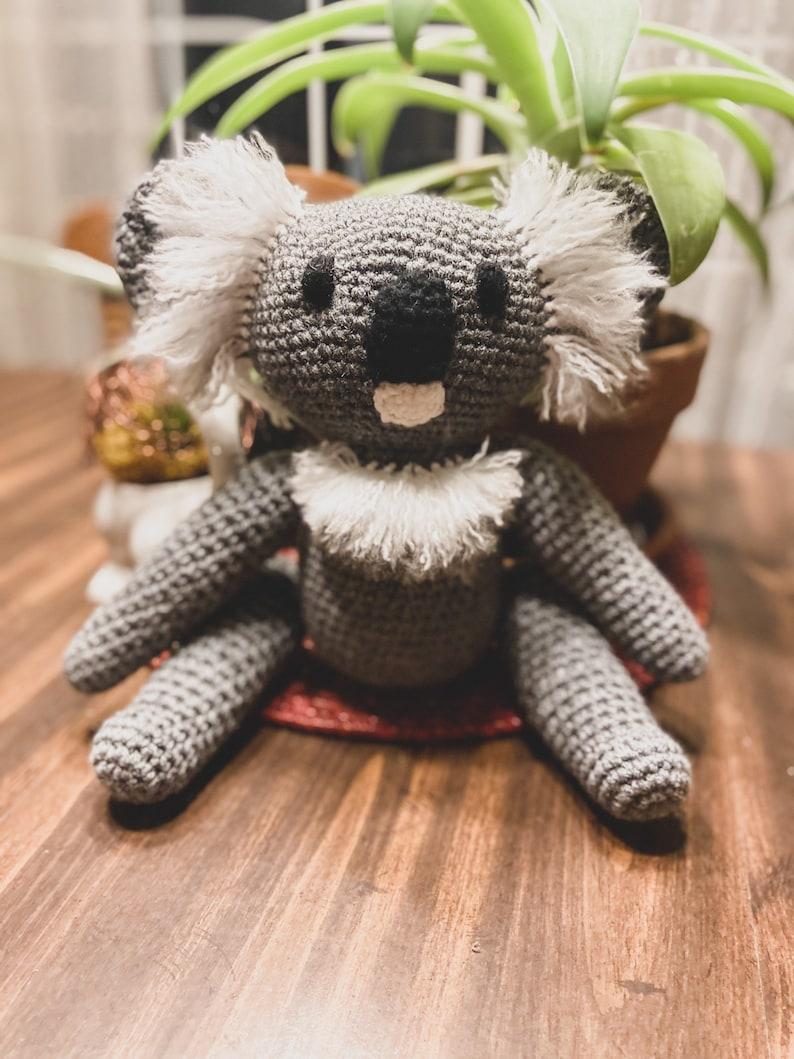 Handmade Koala Amigurumi Stuffed Animal image 0