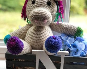 Handmade Unicorn Crochet Amigurumi Stuffed Animal