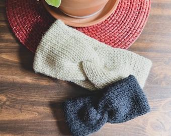 Handmade Knit Twist Headband || 7 Sizes!