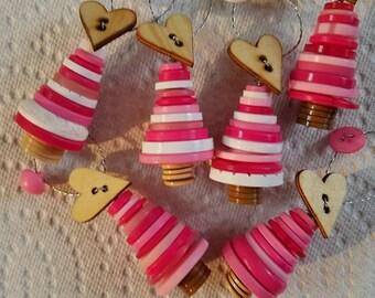 Valentine's Day Button Ornaments!!!