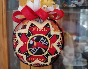 Fire Fighter Ornament