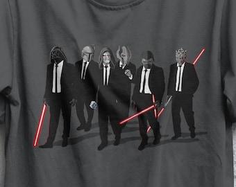 Galaxy Dogs T-shirt / Star Wars T-shirt  / Reservoir Dogs / Tarantino / Darth Vader, Boba Fett, Emperor