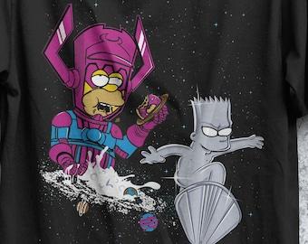 Rad Surfer T-shirt /  Silver Surfer / Comics / Funny Shirt Cartoons