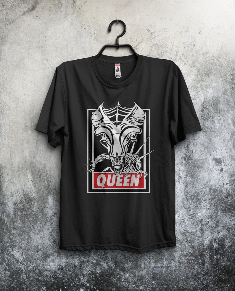 Obey Queen  T-shirt /  Sci-fi / Horror Movies /  Urban image 0
