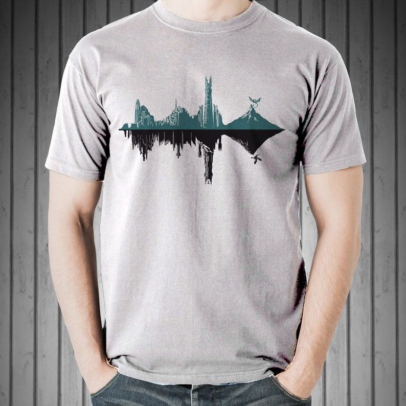 Middle-Hertz Duality Tee /  Middle Earth Structures in a image 0