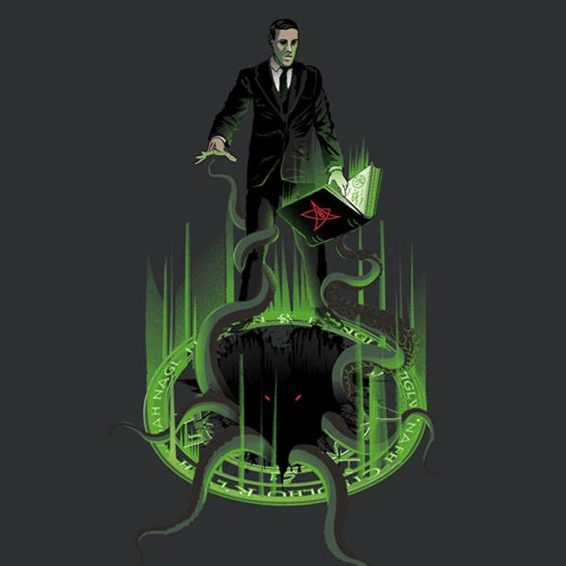 Love the Craft T-shirt / Lovecraft Tee / Cthulhu / Horror/ image 0
