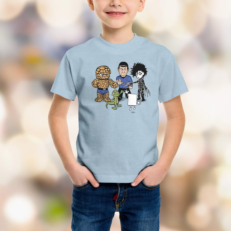 Rock Paper  Scissors  T-shirt /  Big Bang Theory  /  Cute image 0