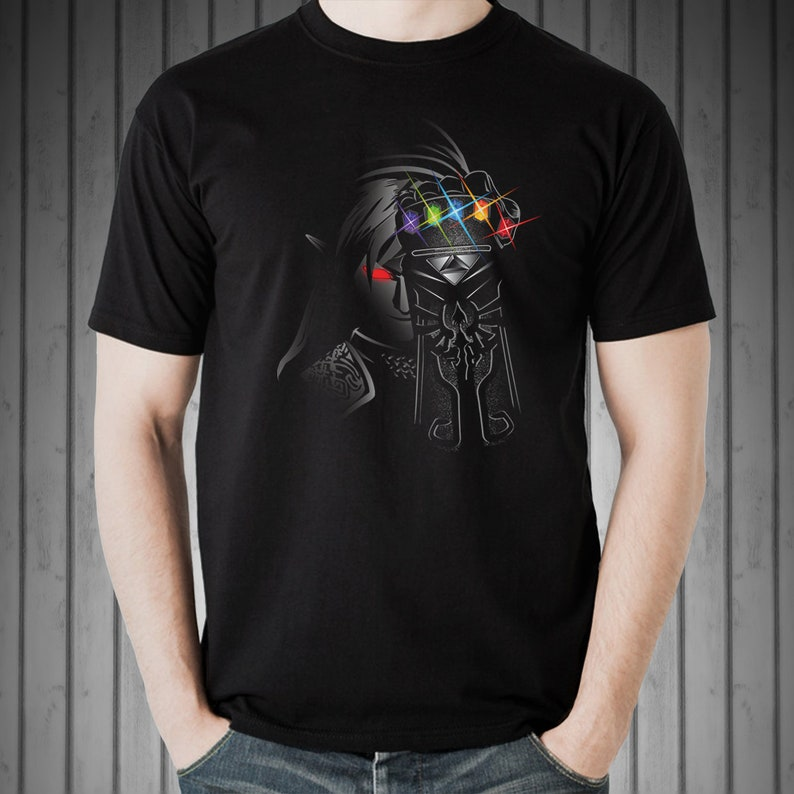 The Infinity Rupees T-shirt / Dark Link Tee / Thanos  /  The image 0