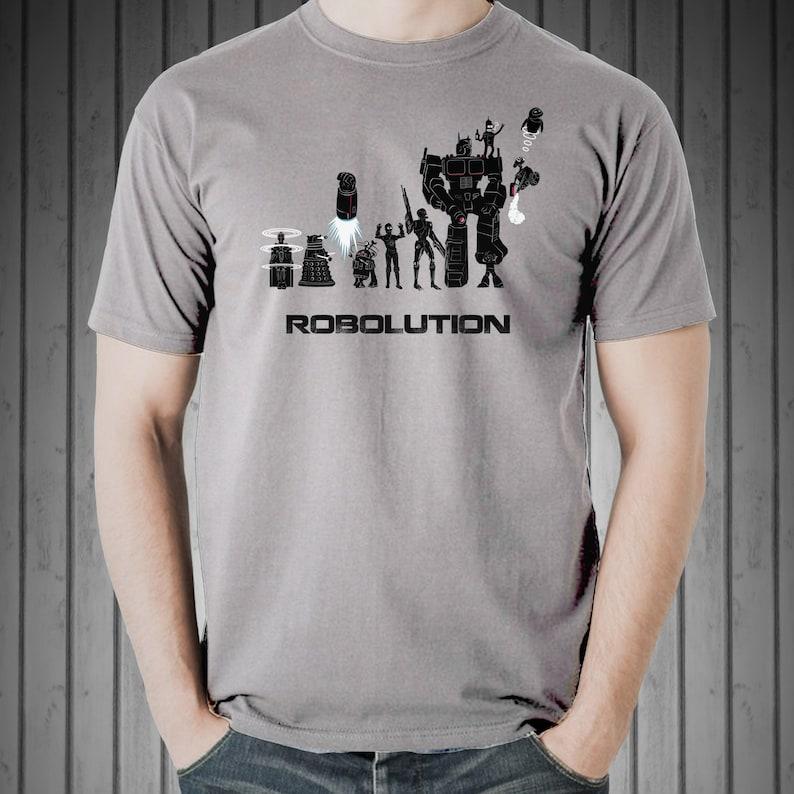 Robolution Tee / Robot Evolution T-Shirt / Star Wars / image 0