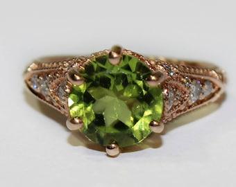 Elegant Art Deco era inspired ring