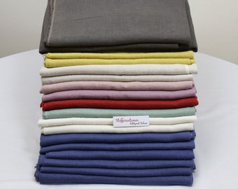 Finest Luxurious Belgian Linen Fabric Remnants, Premium Belgian Linen Remnants, Heavy Linen Remnants, Large Linen Remnants, Linen Remnants