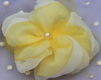 Blume Haarclip Seidenblume Haarklammer Ansteckblume Haarschmuck viele Farben