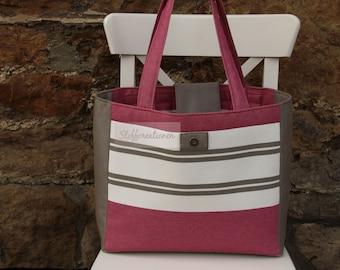 Luxury Tote Bag, Handmade Shopping Bag, Pink Shopping Bag, Luxury Bag, Shopper Tote Bag, Shopper Tote, Shopper Handbag pink, Tote Bag big