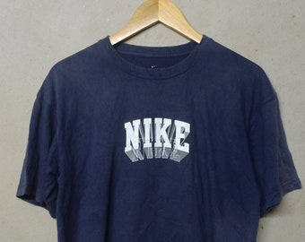 55ab92c74621 Vintage Nike Block T-Shirt - Nike Block Large Size - Vintage Nike Shirt For  Men   Women - Make Me An Offer